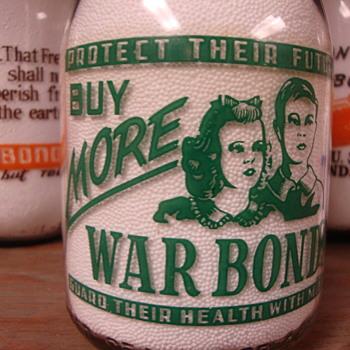 CRONE'S GUERNSEY DAIRY...ANGOLA INDIANA WAR SLOGAN - Bottles