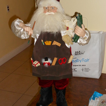 3ft Tall Sant Claus Doll - Christmas