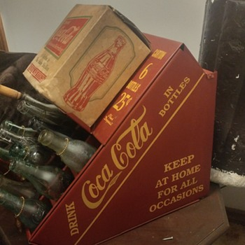 1930's Red Coca Cola Display - Coca-Cola
