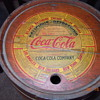 1930's Coca-Cola Wood Syrup Keg, Paper Label, Ten Gallon
