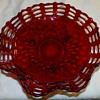 Triple open lace bowl,