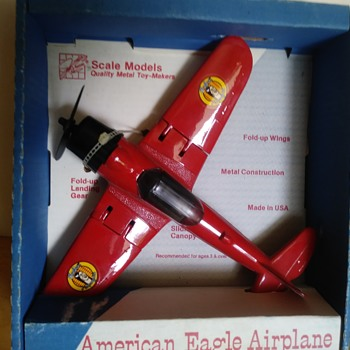 Ertl/Scale Models American Eagle Aircraft - Toys