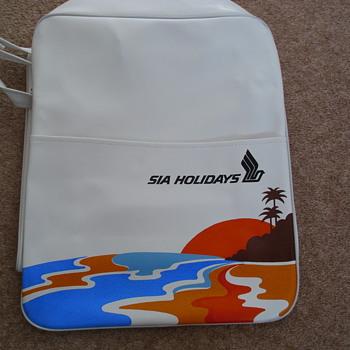 Vintage Singapore International Airlines Flight Bag