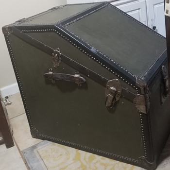 Trunk with Atkinson & Long Everlasting Lock - Furniture