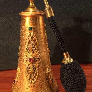 Silvercraft Jeweled Perfume Atomizer