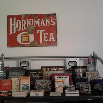 Tea Tin Collection -2- - Advertising