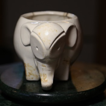 Bauhaus / Deco Elephant Planter? - Art Deco