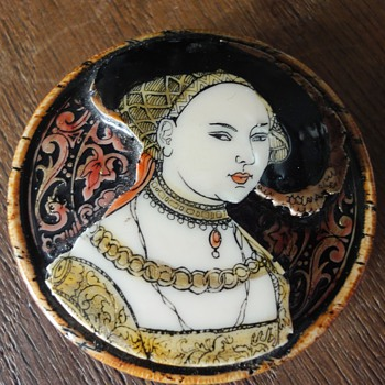 Old chinese round ornament?? - Costume Jewelry