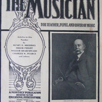 "June, 1906 issue of ""The Musician"" magazine"