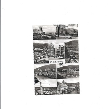 HEIDELBURG, GERMANY - Postcards