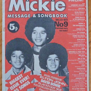 Michael Jackson memorabilia - Music Memorabilia