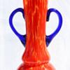 tall spatter vase