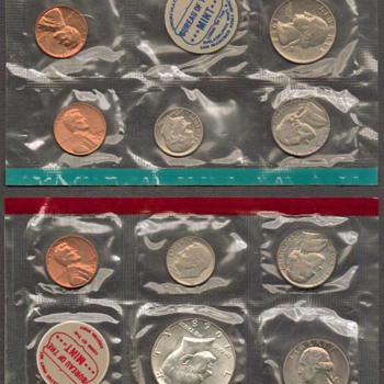 1968 - U.S. Mint Coins Set - US Coins