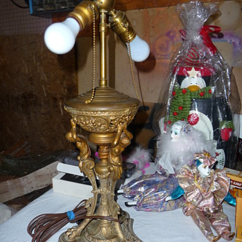 Brass lamp? - Lamps
