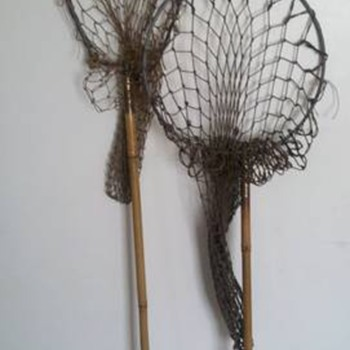 Antique Fishing Rods/Nets (Bamboo/Cane)