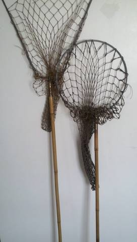 Antique Fishing Rods Nets Bamboo Cane Collectors Weekly