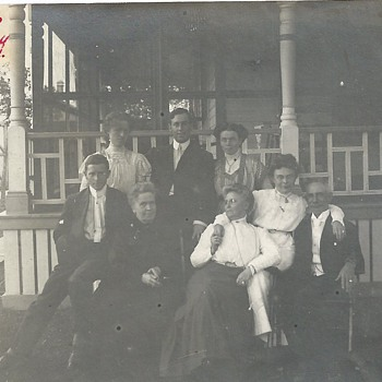 "Great grand Mother house""August 1910"" - Photographs"