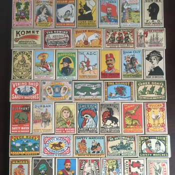 Swedish Safety Matches collection