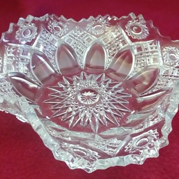 A Gorgeous Nut/Candy Bowl - Glassware