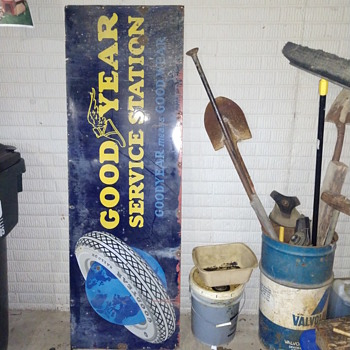 1920's Goodyear Service station sign - Signs