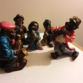The Summit Collection Jazz Band.. well part of it - Figurines