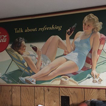 1943 Coca Cola - Posters and Prints
