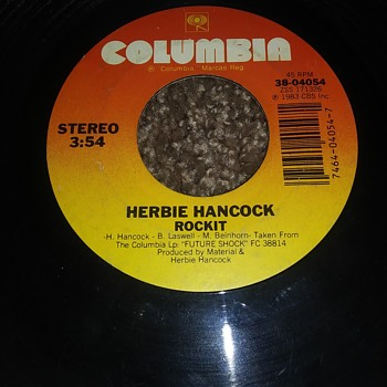 Herbie Hancock...On 45 RPM Vinyl - Records