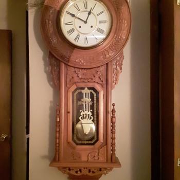 Large Regulator A wall clock - Clocks