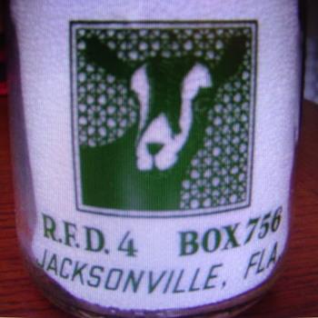 Busch's Quart Goat Milk ...Jacksonville, Fla.
