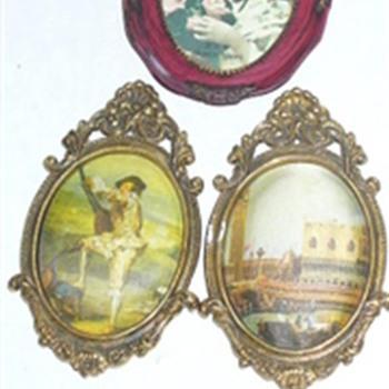 Old Framed Cloth Photos