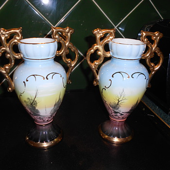 Vintage Vases made in Portugal. - Pottery