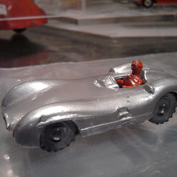 1955 Mercedes SSR by Budgie toys.  Same size as the matchbox cars.  Very rare I am told. - Model Cars