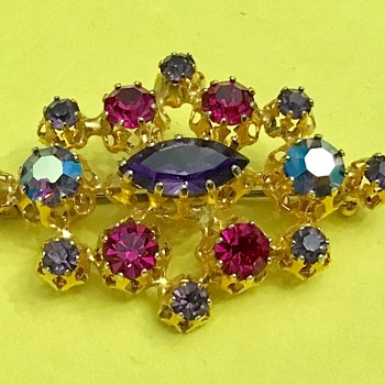 Brooch by Star - Costume Jewelry