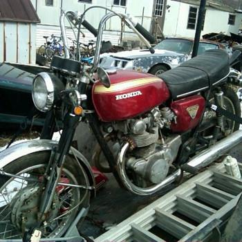 1969 Honda CB 450 - Motorcycles