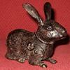 Vintage Bronze Chinese Rabbit