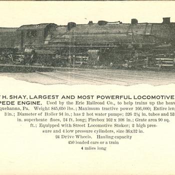Erie Railroad 2-8-8-8-2 Triplex