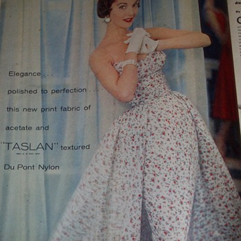 Vintage Fashion Ads - Paper