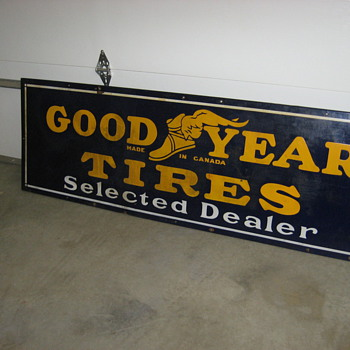 Goodyear sign - Signs