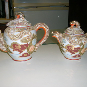 Unknown tea set - Asian