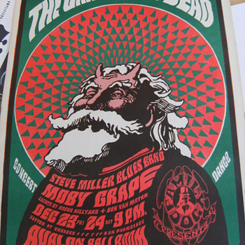Vintage Concert Posters, Part 2 of 3 - Posters and Prints