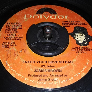 JAMES BROWN - Records