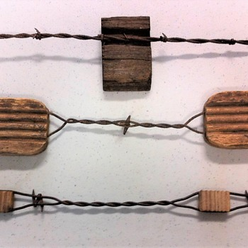 NEW ADDITIONS TO VISIBLE BARBED WIRE COLLECTION - Tools and Hardware