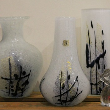 Calligraphy series by Iwata Glass - Art Glass
