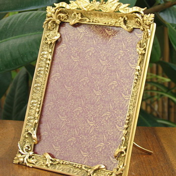 19th century French Bronze Ormolu picture Frame - Fine Art