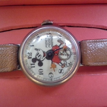 1934 English Mickey #1  - Wristwatches