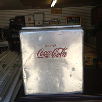 Stainless Steel Coca Cola Cooler