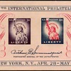 "1956 - ""Philatelic Exhibition"" Souvenir Sheet (US)"