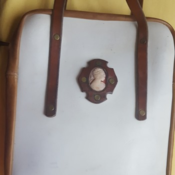 Vintage Cameo Tote - Bags