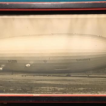 Zeppelin Hindenburg - Advertising