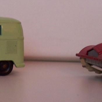 my first matchbox cars as a child - Model Cars